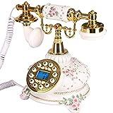 Teléfono Fijo Teléfono Decorativo Antiguo, teléfono móvil, teléfono Fijo, hogar,...