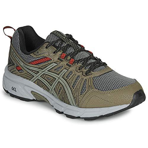 ASICS Herren Gel-Venture 7 Leichtathletik-Schuh, Mantelgrün/Lichengrün, 42.5 EU