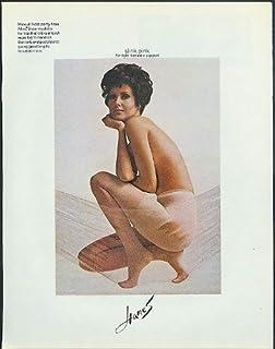 Slink pink for light fantastic support Hanes Pantyhose ad 1968