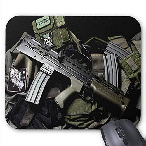 Mousepad Airsoft Gun Photography Print Non-Slip Mouse Mat