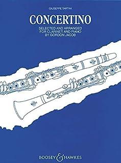 Clar Concertino F Cl/Pf (Tartini)