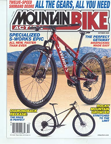 MOUNTAIN BIKE ACTION MAGAZINE - OCTOBER 2020 - ALL THE GEARS, ALL YOU NEED
