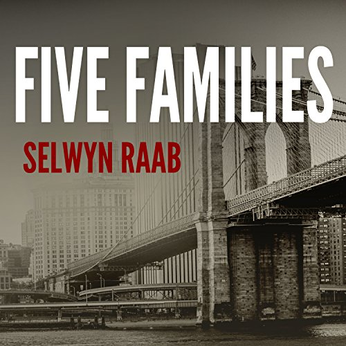 Five Families audiobook cover art