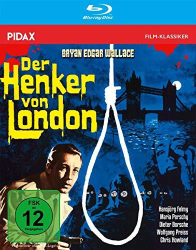 Bryan Edgar Wallace: Der Henker von London / Spannender Gruselkrimi mit Starbesetzung + Bonusmaterial, inkl. Hörspielfassung (Pidax Film-Klassiker) [Blu-ray]