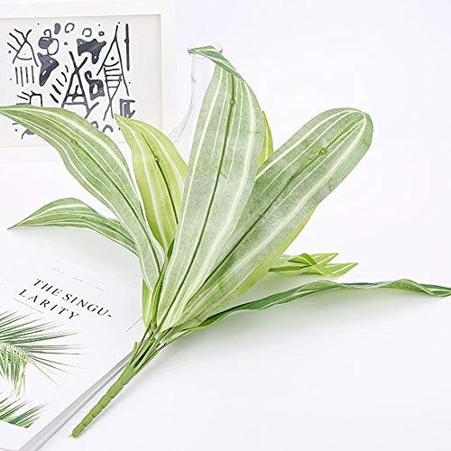 Romote 1pc Bouquet Artificial Tuch Pflanze Blatt grün Brasilien LeavesHome Büro Geschäft Dekor schöne naturgetreue künstliche