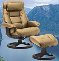 Fjords Mustang Large Leather Recliner Chair