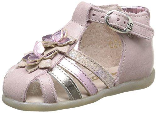 babybotte Gaia, Chaussures Marche bébé Fille, Rose (021 Rose), 19