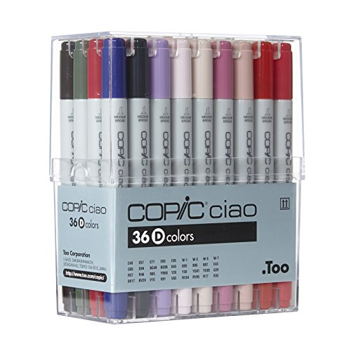 Copic Ciao Markers Set D, 36-Piece