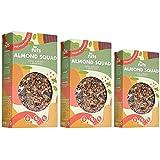 Be Nuts: Almond Squad | Avena Sin Gluten | Gluten Free | Cereal free | Vegan | Sugar Free | Granola 350g x 3