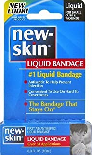 New-Skin Liquid Bandage: 0.3 oz Bottle by New-Skin