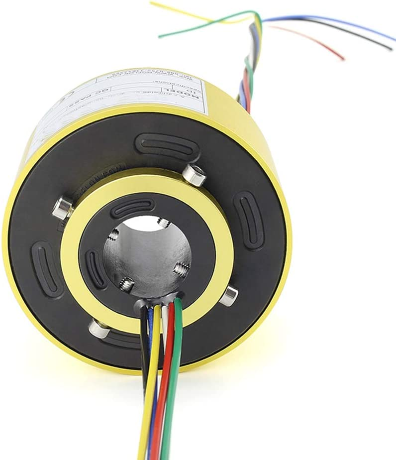 Taidacent Through Bore Electrical Slip 35% OFF Popular product Ring En Rotate Conductive