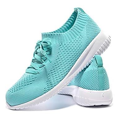 JIUMUJIPU Women's Walking Shoes Running Ten...