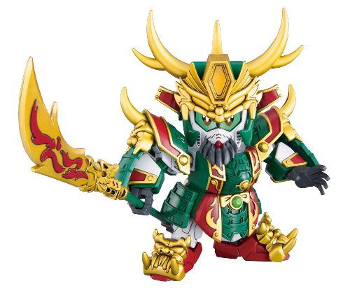 SDガンダム BB戦士 SD三国伝 Brave Battle Warriors 真 関羽(カンウ)ガンダム No.003