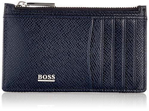 Hugo Boss Herren Signature_5cc Z Poch Geldbörse, Blau (Dark Blue401), Onesize