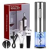 COVELL Abridor de vino, sacacorchos, abrebotellas eléctrico, abrebotellas de vino, abrebotellas eléctrico, juego para el patio de cocina al aire libre