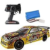 Sunbary RC Voiture Télécommandée - 1/14 4WD RC Voiture Drift Haute Vitesse 2.4GHz Radiocommande Car - Cadeau pour Enfants et Adultes