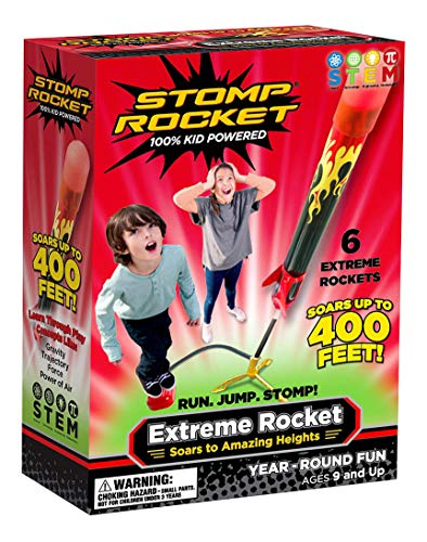 Product Image of the Stomp Rocket Extreme Rocket 6 Rockets - Outdoor Rocket Toy Gift for Boys and...