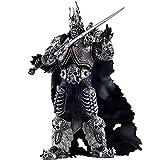 Personaje del Juego Wow World of Warcraft Fall of The Lich King Arthas Menethil Figura De Acción De 7 Pulgadas, Colección De PVC Modelo Estatua Muñeca De Juguete Anime Regalos