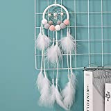 YoungYuan AtrapasueñOs Grande Led sueño Catcher Colgando de la Pared Decoración Decoraciones de Pared para dormitorios Macrame Colgante de Pared Grande