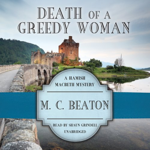 Death of a Greedy Woman audiobook cover art