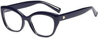 Fulision Unisex HD reading glasses Cat glasses frame high-end reading glasses