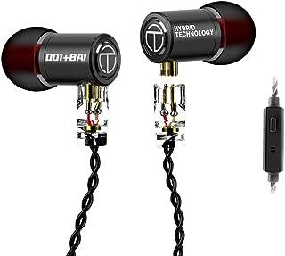 $21 » TRN M10 IEM Earphones in Ear Earbuds, Senlee 1DD + 1BA Hybrid Dual Driver HiFi in Ear Headphones for Church Travel (with M...