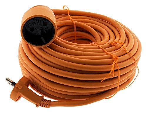 Prolongateur 16A HO5VV-F 2x1,5 Orange 25m