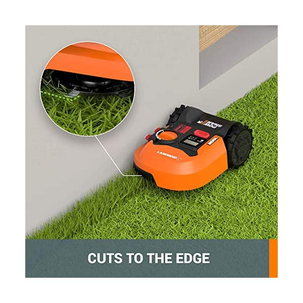 WORX WR143 Landroid M 20V PowerShare Robotic Lawn Mower with GPS Module Included 5