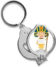 DIYthinker Sombrero amarillo Egipto de dibujos animados de uñas Cortador de recorte