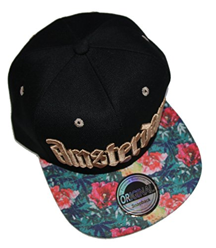 NEW STYLE Casquette Snapback - Amsterdam, Umfang: ca. 52-60 cm