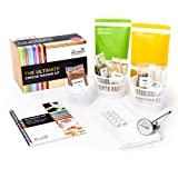 The Ultimate Cheese Making Kit | Make 10 Easy Vegetarian and Gluten-Free Cheeses For All Occasions | Fast, Fresh Homemade Cheese | Includes A Recipe Book and Ingredients, 32oz