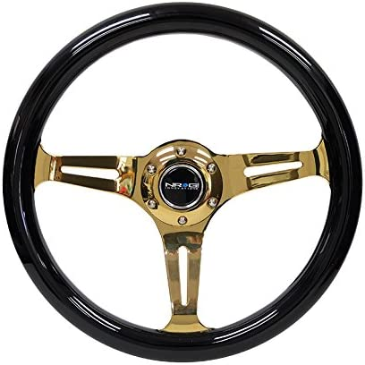 67% OFF of fixed price NRG REINFORCED Attention brand STEERING WHEEL ST-015CG-BK + Lab Performance U.S.