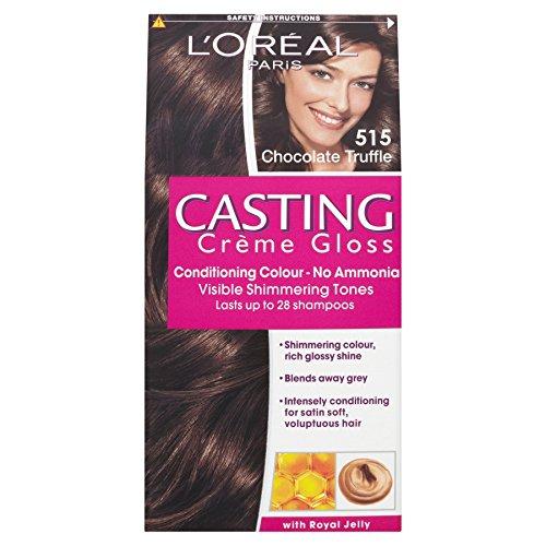 3 x L'Oreal Paris Casting Creme Gloss Conditioning Colour 515 Chocololate Truffle
