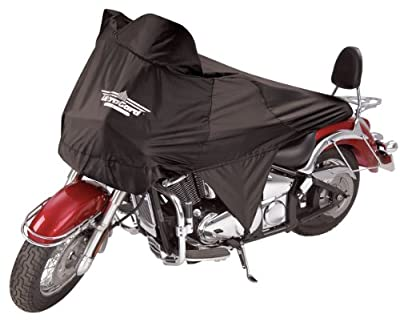 UltraGard 4-456BK Black Cruiser Motorcycle Half Cover