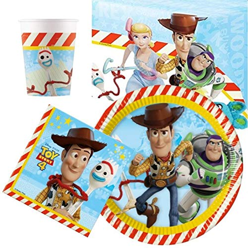 Disney Toy Story 4 - Vajilla para 8 unidades