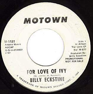 For Love Of Ivy (VG 45 rpm)
