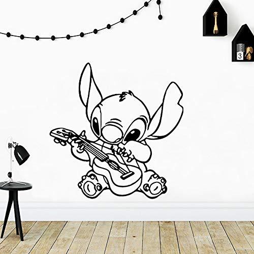 wZUN Kunst Cartoon Stich Vinyl Tapete Rolle Möbel Dekoration Wohnzimmer Dekoration Vinyl Kunst Aufkleber 57x58cm