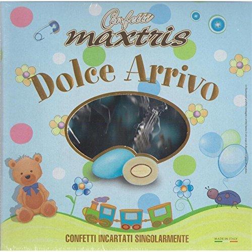 Confetti Maxtris , Dolce Arrivo Celeste, 500 Gr - 500 gr