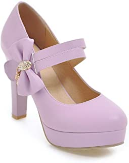 BalaMasa Womens APL12251 Pu Heeled Sandals