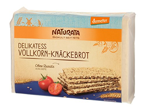 Naturata Delikatess-Vollkorn-Knäckebrot (250 g) - Bio