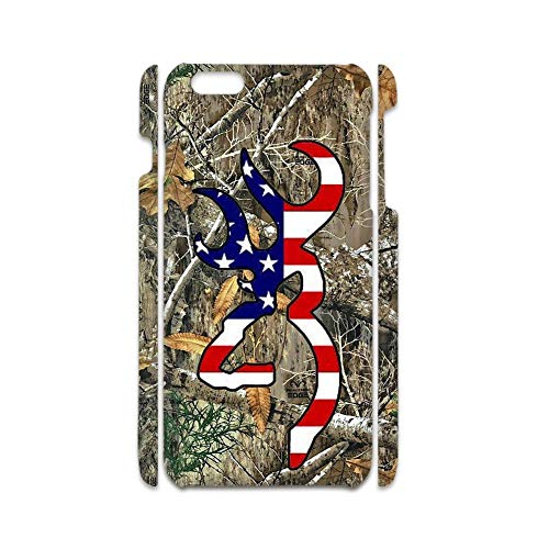 Print with Browning 7 In Fashion Shells Hard Plastics Compatible On Apple 4.7Inch iPhone 6/6S Girls Choose Design 125-2