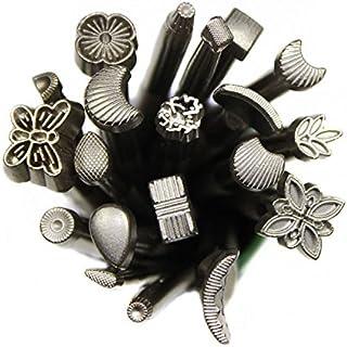 GoodFaith Ensemble de tampons pour impression sur cuir, outils de gaufrage du cuir, kit de sculpture manuel de différentes...
