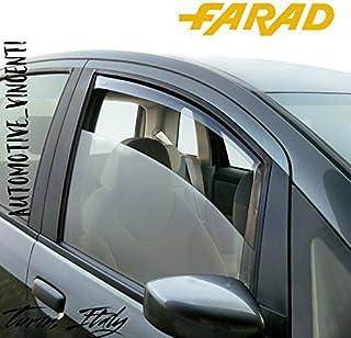 /2005 Farad Deflectores de viento para Renault Clio 2//° serie//Clio Storia//Clio Campus 3/puertas 1998/