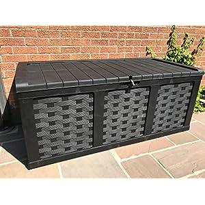 Starplast XXL Waterproof Plastic 634 L Garden Storage Box