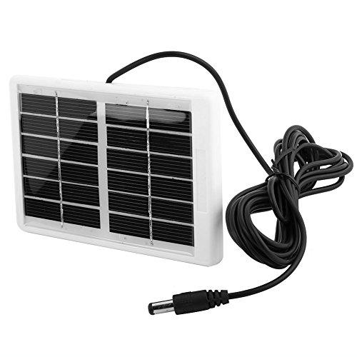 Tbest Tragbares Solarpanel Ladegerät Generator 6V 1.2W Multifunktions Tragbares Solar Powerbank Ladegerät für Notlampen Ventilator Handy