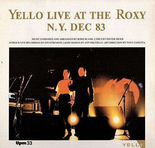 Yello - Live At The Roxy N.Y. Dec 83 - Vertigo - 822 262-1, Vertigo - 822 262-1Q