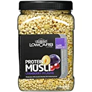 Layenberger LowCarb.one Protein Müsli Cranberry-Pflaume, 3er Pack (3 x 560 g)