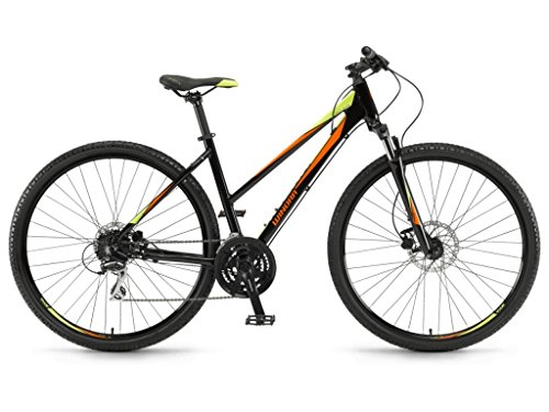 Winora Mountain Bikes Yacuma Damen 28'' 24-G Acera Mix 17/18 Winora Black/orange/Lime 51