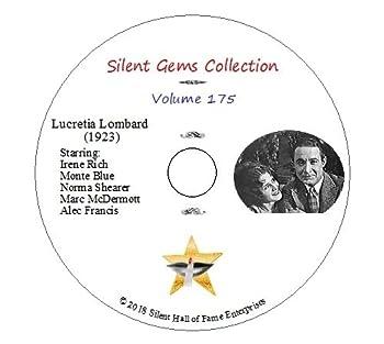 DVD  Lucretia Lombard   1923  Irene Rich Monte Blue Norma Shearer Classic Silent Drama
