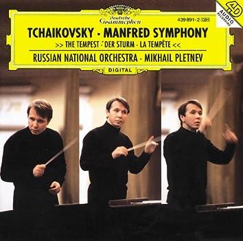 Tchaikovsky: Manfred Symphony; The Tempest